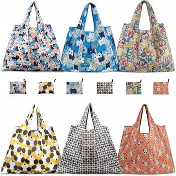 Reusable Grocery Bags By TEOYALL