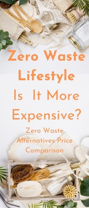 Zero waste lifestyle pin