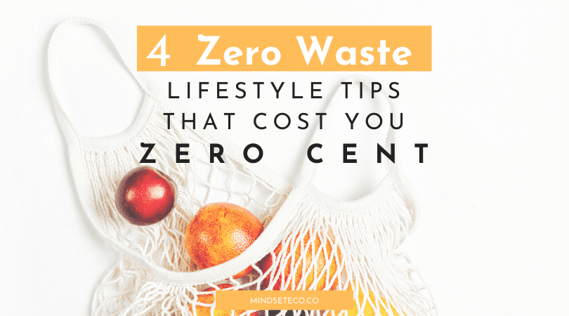 Tips zero waste lifestyle