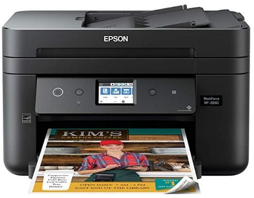 Picture Of Workforce WF-2860 All-in-One Printer