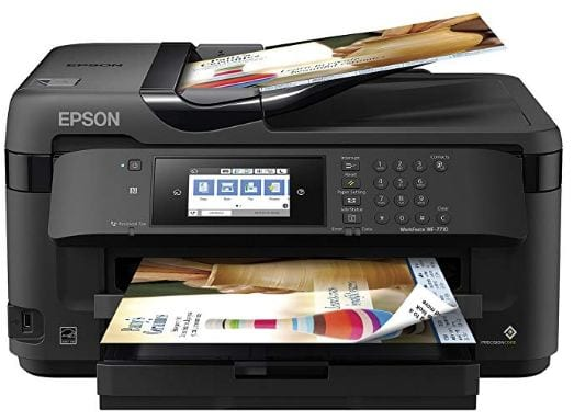 Picture Of WF-7710 Wide-Format Printer