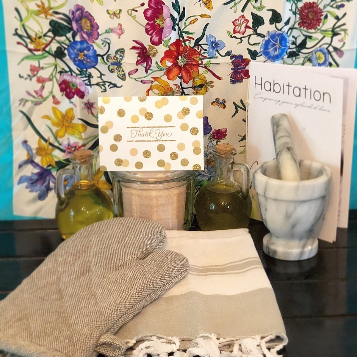 Interior design products from the Habitation Subscription Box
