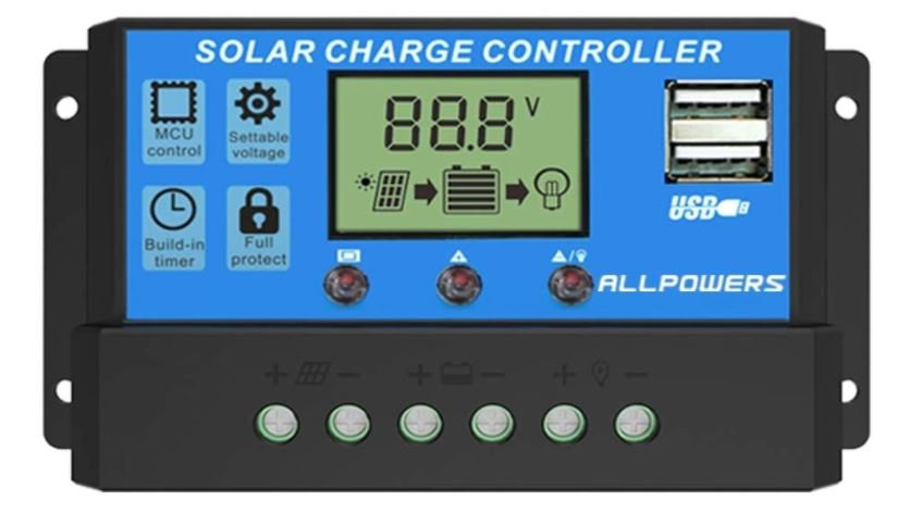 Allpowers 12 v Solar Charge Controller