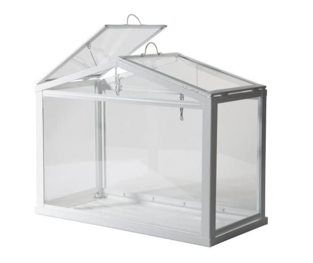 Screenshot of the Ikea Socker Tiny Greenhouse - Best Small Greenhouses