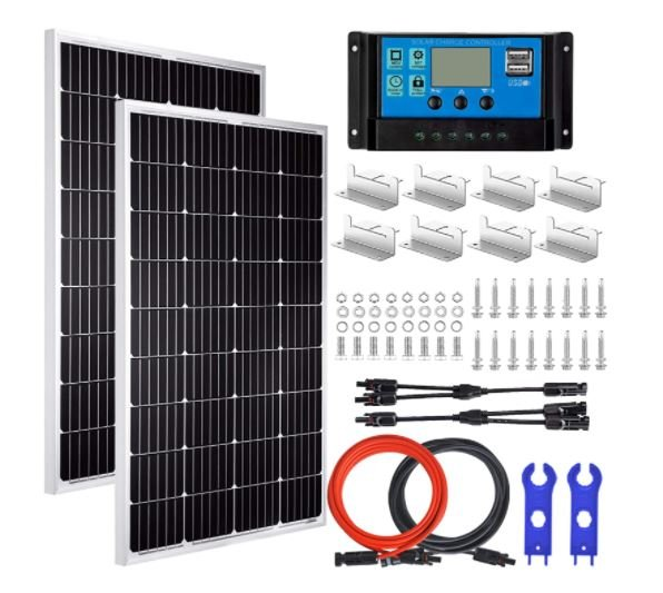 Screenshot of the Pikasolar Best Solar Panel Kit