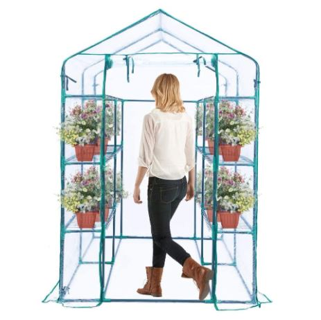 Screenshot of the Worth Garden Walk-in Best Small Greenhouse