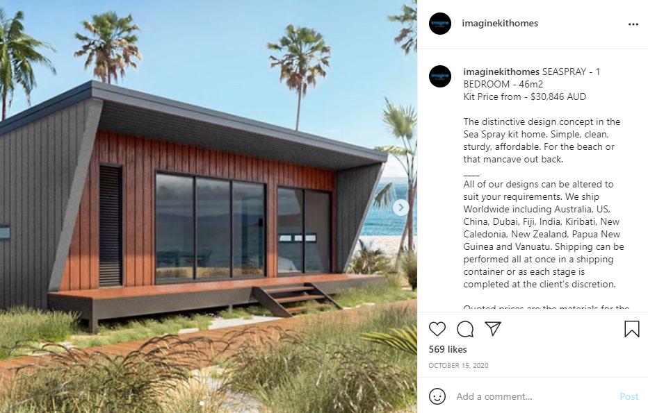 Sea Spray by Imagine Kit Homes Self-Build House Kit