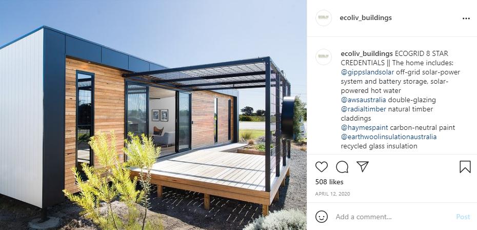 Eco Grid Range by Ecoliv Buildings Self-Build House Kit