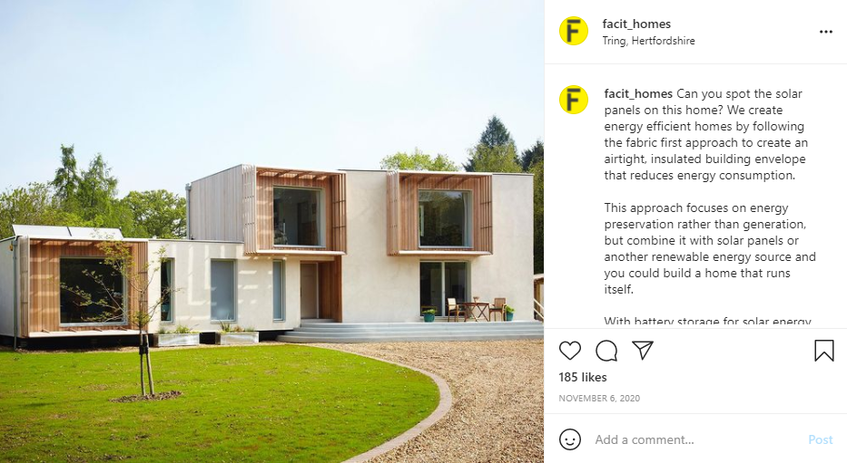 Eco House by Facit Homes Self-Build House Kit