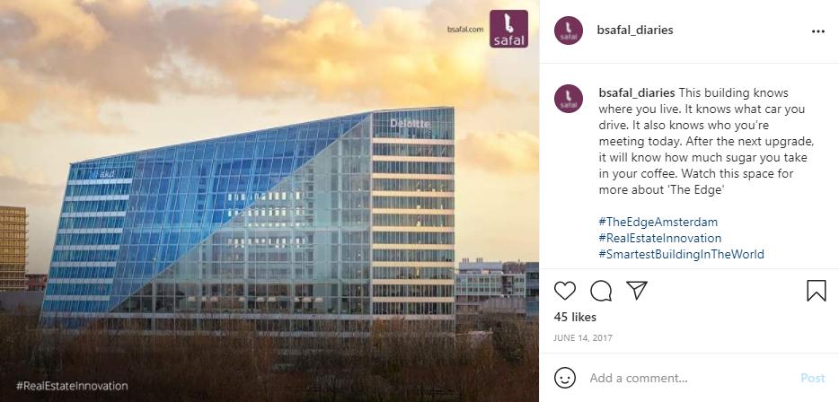 Eco-friendly Buildings - The Edge Amsterdam