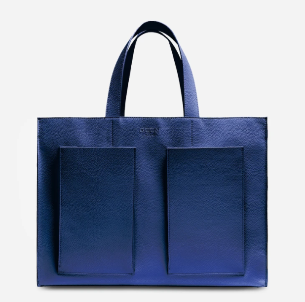 Blue Eco-friendly Tote Bag by Been London