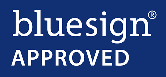 Sustainability Certifications - BlueSign Approved Logo