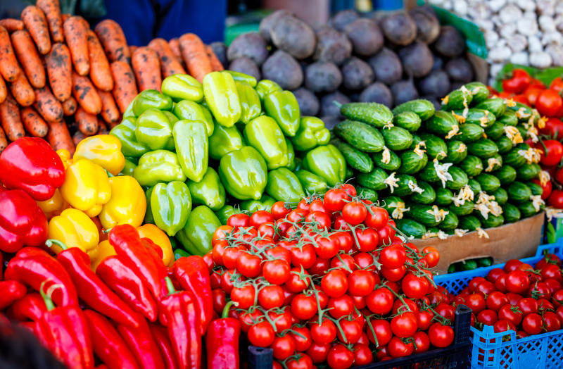 Farm to Table Cycle - Free Image from Canva of Fresh Produce