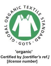 Sustainable Certifications - GOTS Logo
