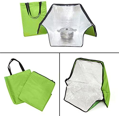 JWN Green Portable Solar Oven Cooker - Image from Amazon