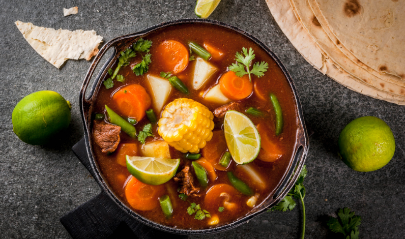 Free Image from Canva of vegetable soup