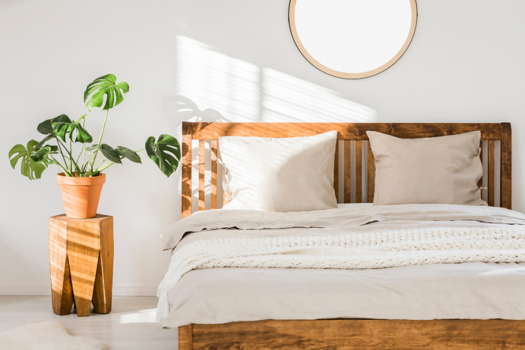 Eco Swaps - Canva Image of Bamboo Bed Linen
