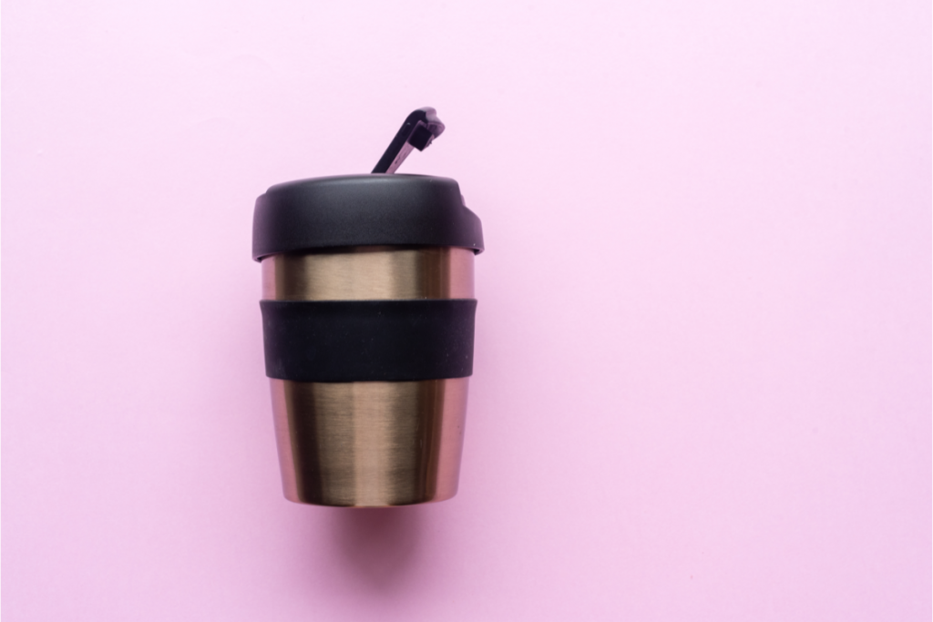 Eco Swaps - Stainless Steel Mug - Image from Canva