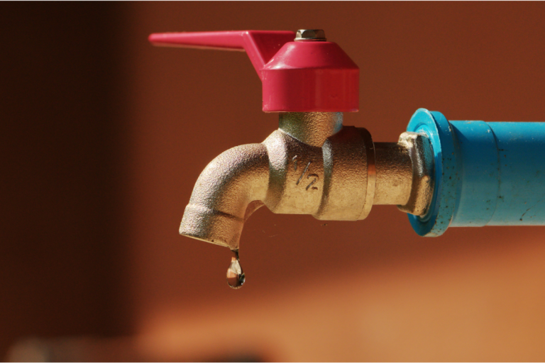 Ways to Conserve Water - Canva Stock Image - Leaking outdoor tap
